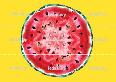 وکتور لایه باز هندوانه