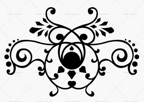 وکتور گل لایه باز